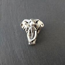 Elephant brooch Lapel pin badge made in Pewter