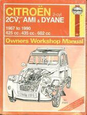 CITROEN 2CV 2CV4 2CV6 DYANE 4 / 6 & AMI 6 / 8 1967 - 1990 REPAIR MANUAL * NEW *