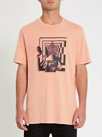 VOLCOM Stone Reveal Mens T-Shirt - Clay Orange