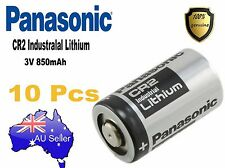 Genuine 10X Panasonic 3V CR2 Lithium Battery CR15H270 CR15270 15270 15266 DLCR2