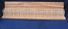 Elm Peg loom 3' (900mm),  3 row, hand crafted North Yorkshire hardwood