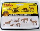 Woodland Scenics (HO-Scale) 1884 - Scenic Accents Animals - DEER - NIB