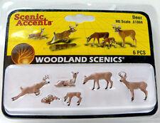 Woodland Scenics (HO-Scale) A1884 - Scenic Accents Animals - DEER - NIB