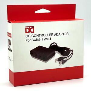 Nintendo Switch / Wii U - Smash Bros Gamecube Controller Adapter - New & Sealed