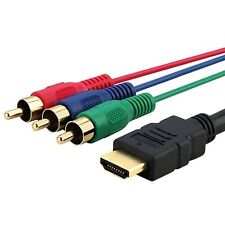 HDMI A RGB CABLE PER SONY PLAYSTATION PS3 PS4 RCA