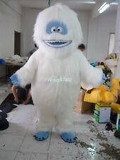 Hot Deluxe EVA Yeti Abominable Snowman Mascot Costume Fancy Dress Free Shipping