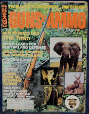 Magazine GUNS & AMMO May 1974 !! LUGER Royal Erfurt Arsenal Models 9mm PISTOL !!