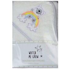Rainbow Baby Hooded Towel Boys Girls Teddy Bear Bath Robe Shower Wrap