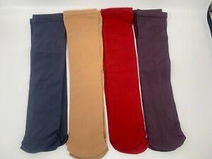 8 pr SAMPLES Nylon Knee-high Moisture-Wicking Boot/Trouser Socks - 4 color pack