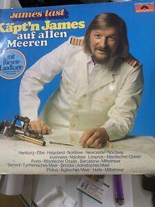 James Last Käpt'n James Auf Allen Meeren LP Album Vinyl Schallplatte