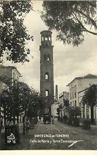 Calle de Noria y Torre Concepcion, Santa Cruz de Tenerife, Spain Rppc