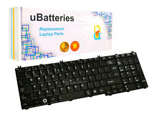 Keyboard Toshiba Satellite C650 C650D C655 C655D C660 (Black, Big Enter Key)
