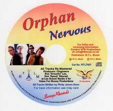 Orphan, Nervous CD  Cat No: RTL7507