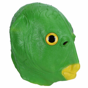 Latex Animal Masks Head Face Cover For Halloween Costume Party Adult Animal ND2