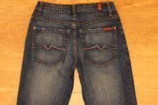 7 for all Mankind Seven women's denim jeans Bootcut Sz 27 W-28 L-33.5 R-8 USA