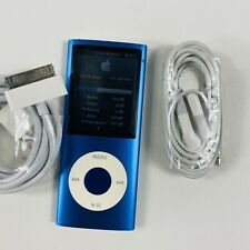 New listing Apple iPod A1285 Blue Nano 4th Generation Usb 8Gb