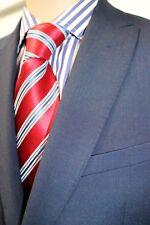 John Lewis Slim Fit Suit in Navy/Plum.  J40R, 42S, T34R RRP  £179