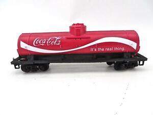 HO TYCO Vintage Coca-Cola Single Dome Tank Car Excellent         (14)2NL