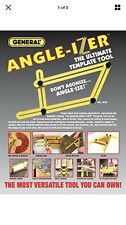 Angle-izer Angleizer Ruler Mechanism Angleiser Measuring Template Tool Uk