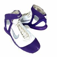 Nike Mens Air Zoom Huarache 2K5 Basketball Shoes Purple White 310850 108 TB 11