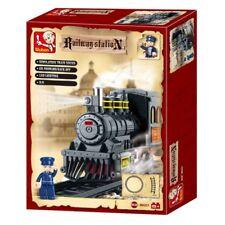 Sluban Toy Building Brick Set * STEPHEN'S ROCKET TRAIN * Railway Edition - NEW