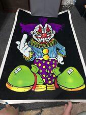Wicked Clown Blacklight Poster