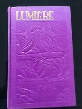 Watchtower «Lumière Tome 1» Rutherford Jehovah Bible