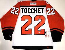 RICK TOCCHET SIGNED PHILADELPHIA FLYERS 1992 NHL 75TH CCM JERSEY JSA COA acf5eea94