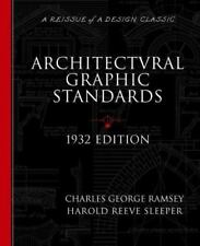 Architectural Graphic Standards for Architects, Engineers, Decorators, Builders