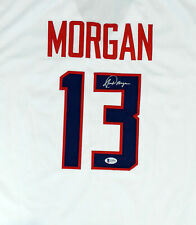 TEAM USA ALEX MORGAN AUTHENTIC AUTOGRAPHED SIGNED WHITE JERSEY BECKETT 154486