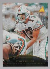 2 x 1995 Pinnacle Trophy Collection DAN MARINO Cards  Parallel Base & Checklist