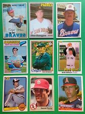 150 Major League Baseball Cards from 60's to 10's All Original Cards