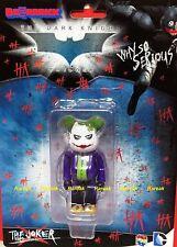 Medicom Be@rbrick DC Comics Batman Knight 100% Joker Why So Serious Bearbrick 1p
