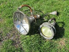 Soviet Russian professional electric underwater spotlight SGP-64. SGP-57