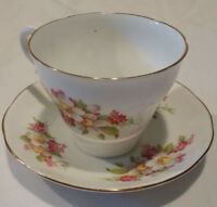 Royal York Fine Bone China Cup And Saucer Vintage Made In England