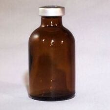 50mL Sterile Amber Glass Vial - FREE SHIPPING