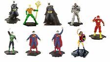 DC COMICS SUPEREROI SUPERHEROES JUSTICE LEAGUE SET 9 FIGURES COMANSI NEW 2017
