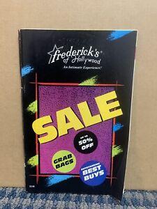 1989 FREDERICKS OF HOLLYWOOD Catalog  Vol. 66 No. 349 (34)