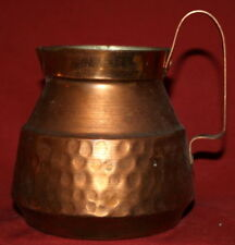Vintage Hand Made Copper Jug