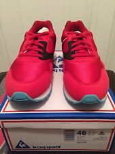 Le Coq Sportif x 24 Kilates Flash Lime  Hanon Solebox Sneaker Freaker Red  Sz 12