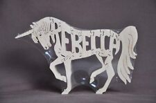 Unicorn Horse Wood Puzzle Amish Made Scroll Saw Toy New
