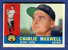 1960 Topps Baseball Charlie Maxwell #443 Detroit Tigers VG-EX