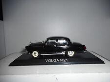 VOLGA M21 BLACK LEGENDARY BALKAN CARS DEAGOSTINI 1/43