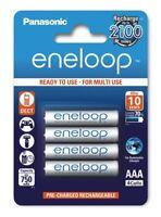 4 x Panasonic eneloop AAA 800mAh BK-4MCCE/4BE 750mAh Rechargeable batteries 1.2V