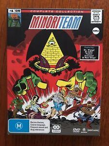MINORITEAM: Complete Collection DVD Region 4 Disc's VGC