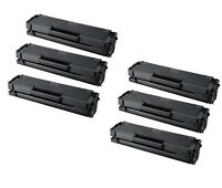 6-Pk/Pack MLT-D101S Black Toner Cartridge Samsung ML-2165W SCX-3405W SF760P