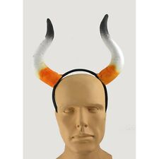 Fabric Cattle Horns Headpiece Bull Horns  Headband  Costume Accessory CLOSEOUT