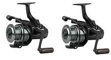2 X Okuma Aventa BF AB-6000 Big Pit Free Spool Reels + Spare spools Fishing