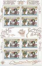 Briefmarken Kleinbogen Tschechoslowakei 1992 ** Nr: 3114 Europa CEPT BR533
