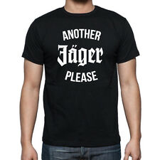CAMISETA ANOTHER JAGER PLEASE JAGERMEISTER PARTY FUNNY DRINK CLUB TSHIRT LOGO